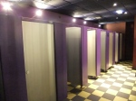 Purple bathroom is awesome.