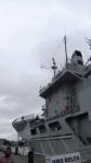 Krigsbåt, militärer och uniformer, Camilla vart var du?