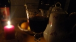 Wine. Purrdy glass.