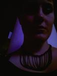 Överfiltrerad (hööh) selfie. Och vad som kändes som knivar i magen, varför det ju inte blev så mycket dansande för min del.