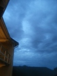 3:30 in the morning, underwater sky.