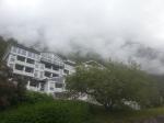 In a cloud.