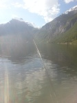 Fjord fishing in a bikini, such a perfect day.