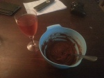 Is that cake batter and wine? You bet.